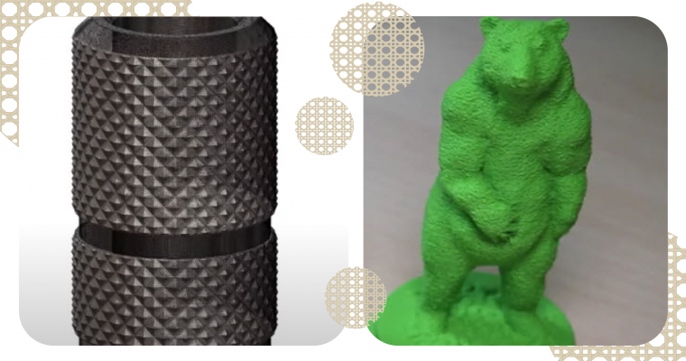 Applying Texture for 3D Printing